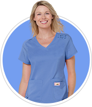 ceil blue scrubs