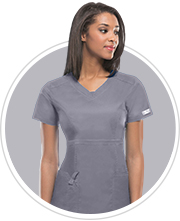 grey scrubs