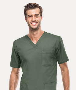 dickies scrub tops