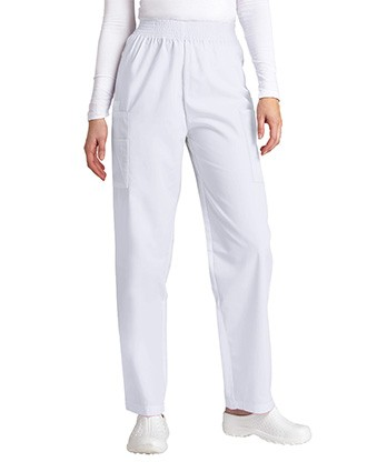 Adar Women Four Pocket Medical Cargo Scrub Pants