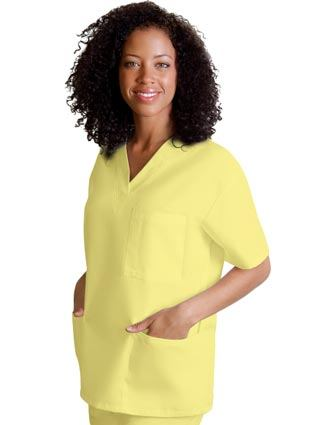 Clearance Sale! Women Uniforms V-Neck Tunic Scrub by Adar