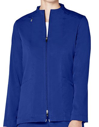 Adar Pro Women's Tailored Funnel Neck Jacket