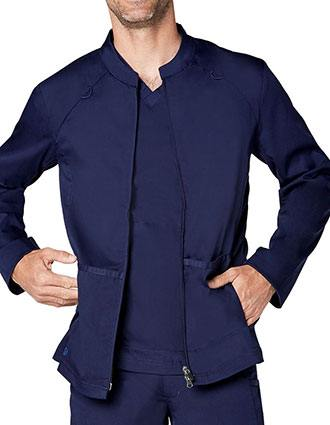 Adar Responsive Men's Zip Front Active Jacket
