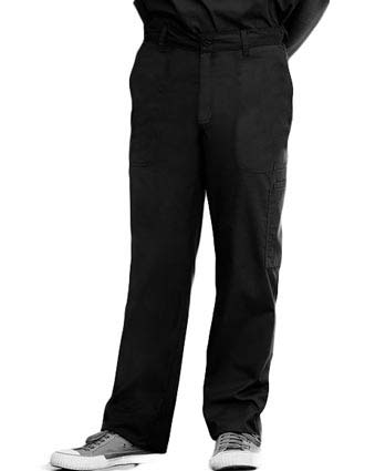 Barco Mens Five Pocket Zip Front Medical Scrub Pants