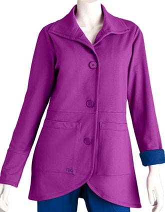 Barco Women's Two Pocket Drop Waist Jacket