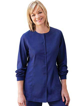 Barco ICU Missy Two Pocket Princess Seamed Scrub Jacket