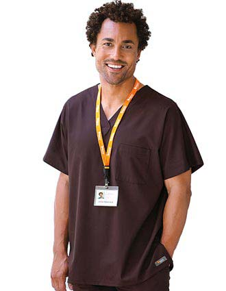 Barco ICU Unisex Single Pocket V-neck Nurses Scrub Top