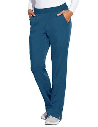 Barco Motion Women's Jill Three Pocket Cargo Rib Waist Petite  Scrub Pant