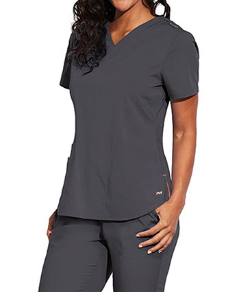 Barco Motion Women's Princess Seam Back Scrub Top