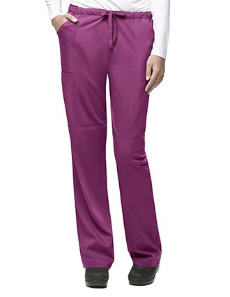 Carhartt Scrubs Women 4-Pocket Cargo Solid Nursing Pants