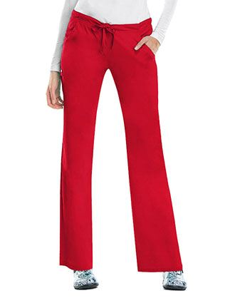 Cherokee Luxe Women Four Pocket Tall Scrub Pants