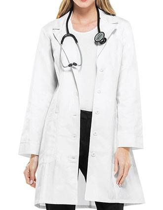 Cherokee Womens Two Pocket 36 Inches Long Medical Lab Coat