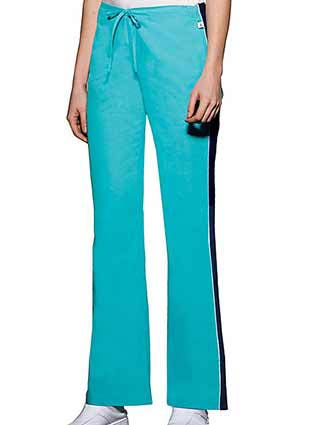Flexibles Women Two Pockets Flare Leg Medical Scrub Pants