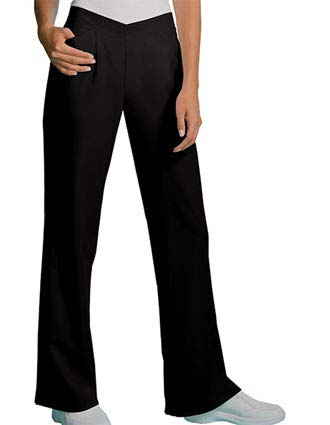 Cherokee Bamboo Planet Womens Two Pocket Flat Front Scrub Pants