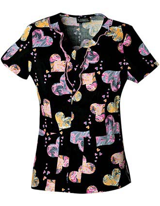 Runway Mar-bella V-neck Nurses Scrub Top