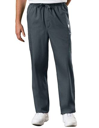 Cherokee Workwear Men's Drawstring Cargo Tall Scrub Pant