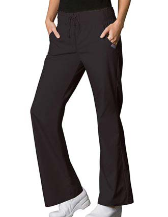 Cherokee WorkWear Womens Smocked Waist Medical Scrub Pants