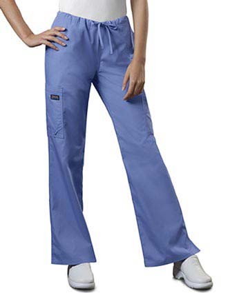 Cherokee Workwear Womens MultiPocket Drawstring Pants