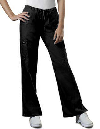 Cherokee Workwear Womens Petite Drawstring Medical Scrub Pants