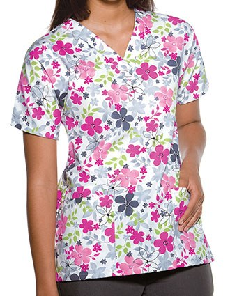 Cherokee HQ Women Sunnyvale V-Neck Nurses Scrub Top