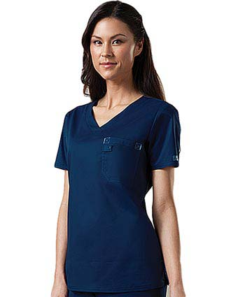 Cherokee Workwear Stretch Women V-Neck Scrub Top