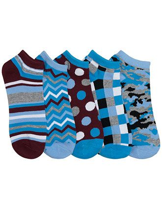 Cherokee Women's 5pr Packs No Show Socks