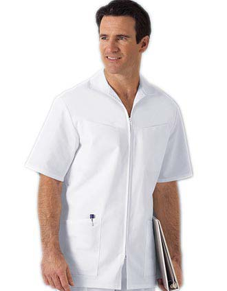 Clearance Sale Men Zip Front Scrub Jacket by Cherokee
