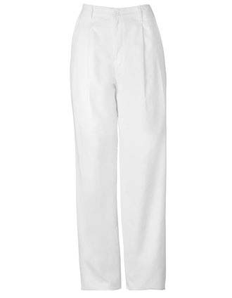 Clearance Sale Men Pleated Trousers with Fly Front and Belt Loops by Cherokee