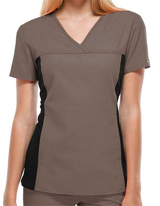 Clearance Sale! Women V-Neck Nurse Scrub Top by Cherokee