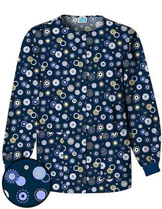 Clearance Sale! Cherokee Womens Dot's Wonderful Print Jacket
