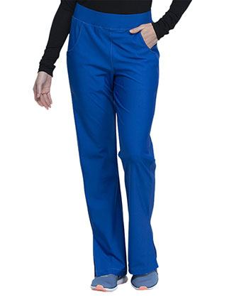 Cherokee Form Women's Mid Rise Moderate Flare Leg Pull-on Tall Pant