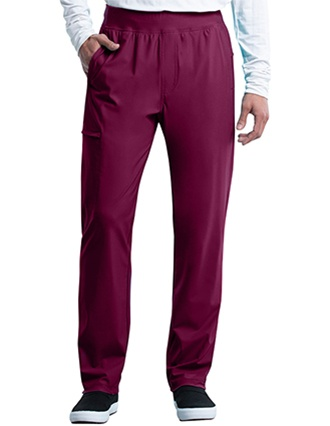 Cherokee Form Men's Tapered Leg Pull-on Tall Pant