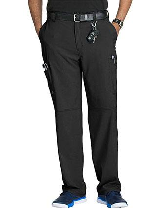 Cherokee Infinity Mens Antimicrobial Fly Front Cargo Pant