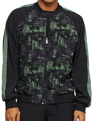 Cherokee Men's Circuit City Printed Jacket