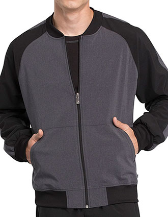 Cherokee Infinity Men's Colorblock Zip Front Jacket