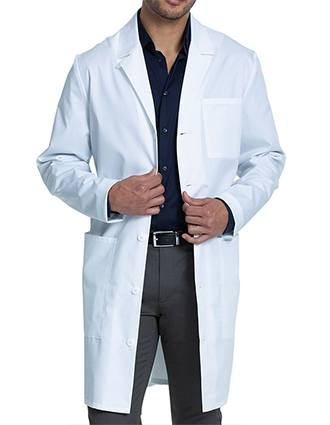 Cherokee Men's Fit Lab Coat