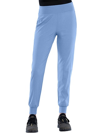 Cherokee Katie Duke Women's Mid Rise Pull-On Jogger Pants