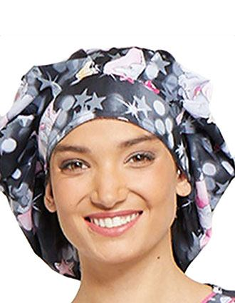 Tooniforms Unisex Dumbo Big Printed Bouffant Scrub Hat