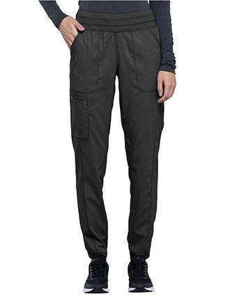 Cherokee Workwear Revolution Women's Natural Rise Tapered Leg Jogger Tall Pant