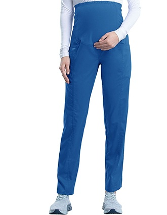 Cherokee Workwear Revolution Women's Slim Fit Maternity Petite Pant
