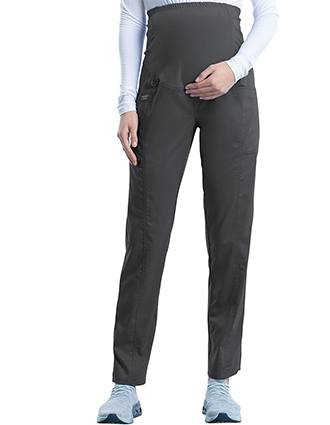 Cherokee Workwear Revolution Women's Slim Fit Maternity Tall Pant