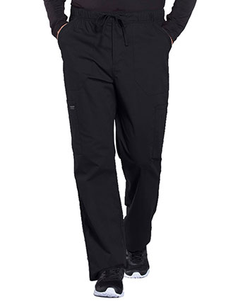 Cherokee Workwear Professionals Men's Tapered Leg Drawstring Cargo Tall Pant