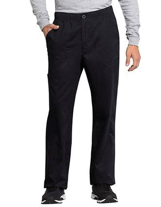 Cherokee Workwear Revolution Tech Men's Mid Rise Straight Leg Zip Fly Tall Pant