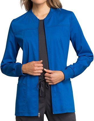 Cherokee Workwear Revolution Tech Women's Zip Front Jacket