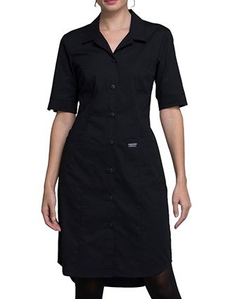 Cherokee Workwear WW Professionals Women's Button Front Dress