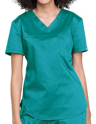 Cherokee Workwear Revolution Women's V-Neck O.R. Top