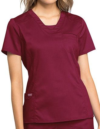 Cherokee Workwear Revolution V-Neck Basic Scrub Top