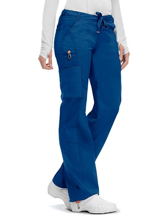 Code Happy Bliss w/Certainty Plus Women's Low Rise Drawstring Cargo Tall Pant