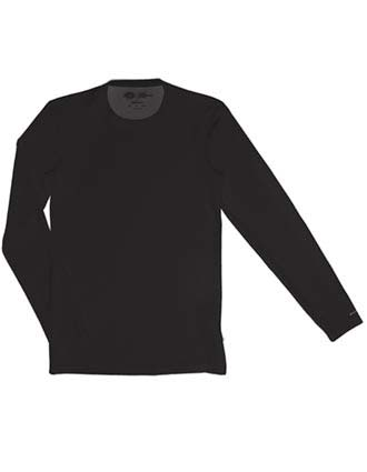 Dickies Performance System Men's Long Sleeve Crew Neck Scrub Shirt