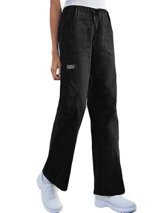 Dickies Soft Works Junior Petite Multi-Pocket Drawstring Scrub Pants